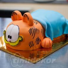 Garfield dort