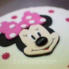 Minnie Mouse dort